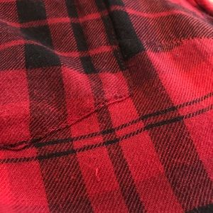 Lucky Brand Tops - Lucky Brand Lumberjack Red Plaid Shirt Size Small